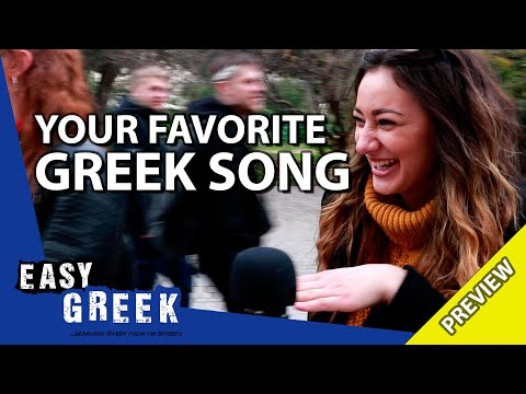 What's your favorite Greek song? (Trailer)   Easy Greek 59 photo