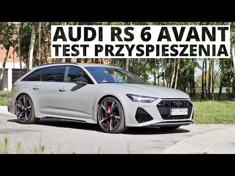 Audi RS 6 Avant 4.0 TFSI 600 KM (AT) - przyspieszenie 0-100 km/h