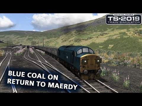 Train Simulator 2019: Class 37 with freight on 'Return to Maerdy'