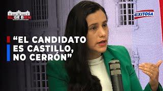 ????????Verónika Mendoza: No sé por qué tanta obsesión con Vladimir Cerrón, el candidato es Pedro Castillo