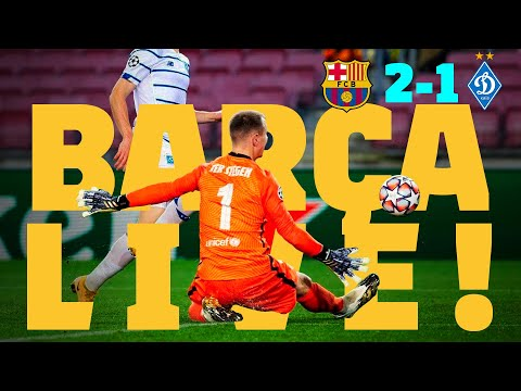 ⚽ BARÇA LIVE! | Barça 2-1 Dynamo Kyiv | Match Center
