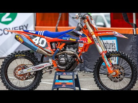 Inside Sean Cantrell's Factory TLD KTM 250SXF - Motocross Action Magazine