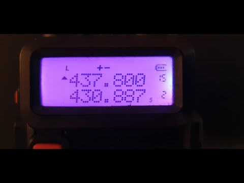 🚀 Baofeng UV5R ISS Repeater setup!