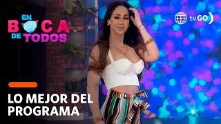 Melissa Loza reaparece en televisión tras ser mamá de su segunda hija Erika