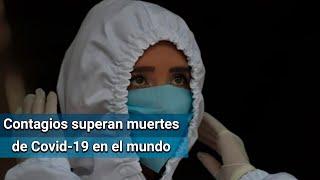 OMS registra récord de contagios de Covid-19 a nivel mundial