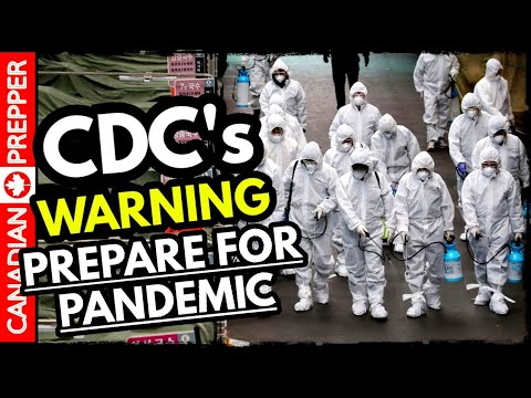 CDC Warns Americans to Prepare for the Worst