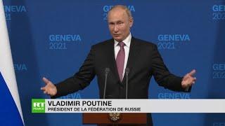 Vladimir Poutine : «Russia Today respecte toutes les exigences du régulateur américain»