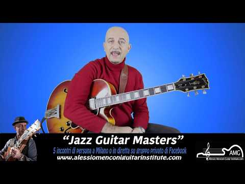 Jazz Guitar Masters | Workshop di Alessio Menconi