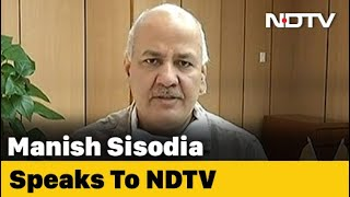 Delhi Getting Cooperation From Centre, Need Financial Help: Manish Sisodia - NDTV