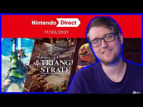 Project Triangle un FF Tactics ? SkywardSword HD🔥🔥 Splatoon 3 ! Le Nintendo Direct !
