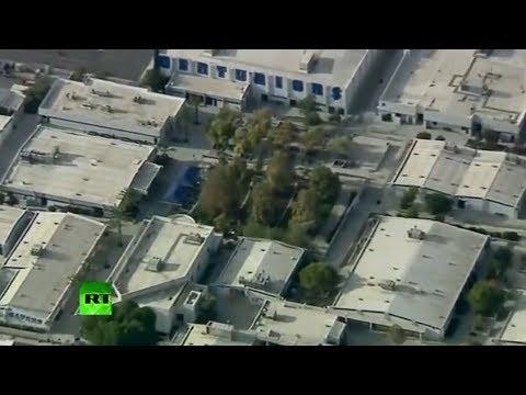 Manhunt for California school shooter