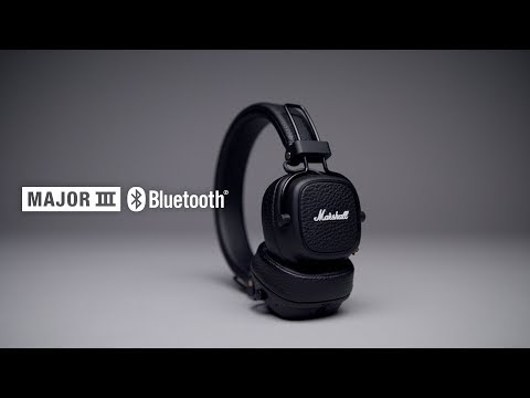Marshall - Major III Bluetooth Headphones - Intro/Trailer English