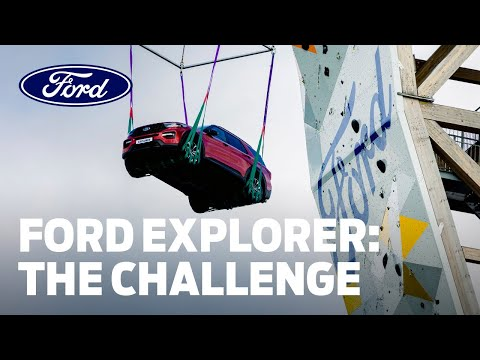 Ford Explorer Climbing Challenge is the Ultimate High for Adventurers