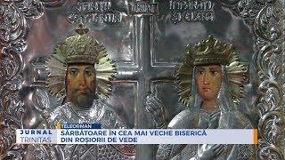 Sarbatoare in cea mai veche biserica din Rosiorii de Vede