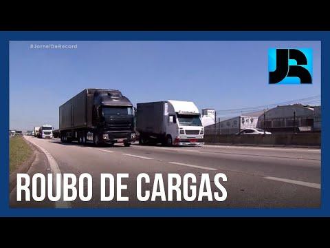 Em média, 12 caminhoneiros são vítimas de roubo de cargas por dia no estado do Rio de Janeiro