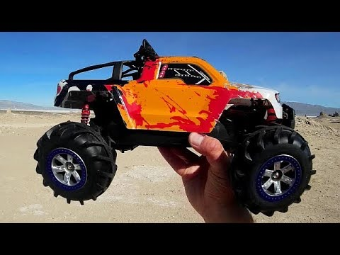 FY 12 Brave 1 12 Scale RC Crawler Test Drive Review