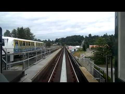 Vancouver Skytrain - Columiba Station to  King Geroge Skytrain Station (Expo Line)