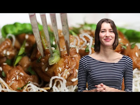 How To Make Alexis's Chicken Teriyaki Crispy Rice Noodle Bowl ? Tasty