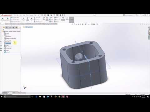 Mold Box Design in SolidWorks for MakerBot Silicone Molding Workshop