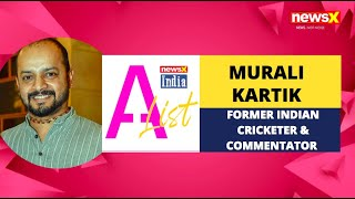 Murali Kartik, Former Indian Cricketer backslashu0026 Commentator | NewsX India A-List |  NewsX - NEWSXLIVE