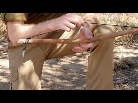 California Survival School: Friction Fire Part1 Materials
