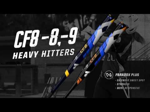 2016 DeMarini CF8 Fastpitch Softball Bats