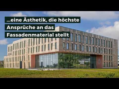 Archivhaus mit Origami Fassade
