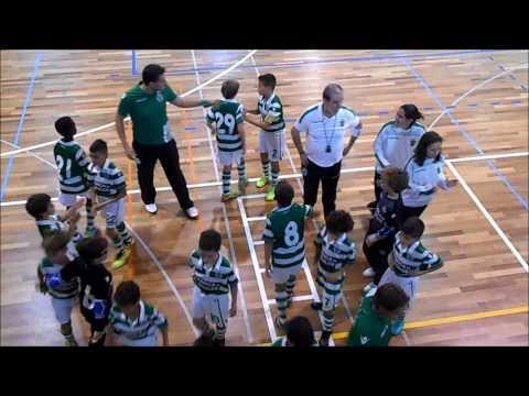 16/17 - Golos 4ª Jornada Campeonato Distrital - ACC 2 x 7 Sporting CP - JUN E