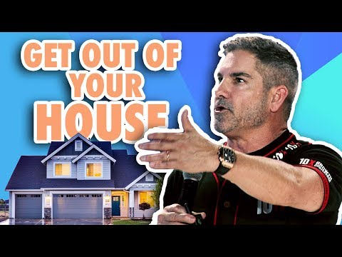 Get out of your house - Grant Cardone photo
