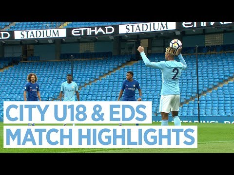 City U18S v Newcastle & EDS v Chelsea | MATCH HIGHLIGHTS