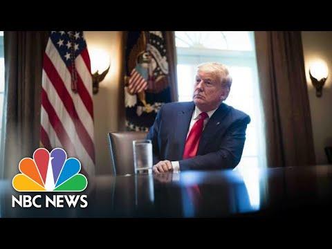 Watch: Trump Receives Briefing on Hurricane Preparedness | NBC News