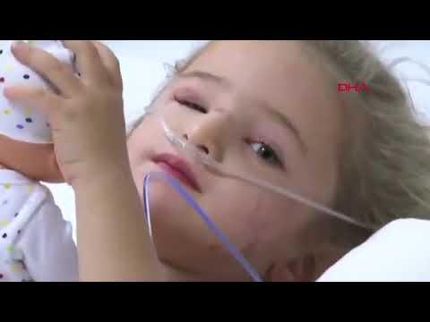 Elif'in Türkiye'ye el salladığı görüntüler