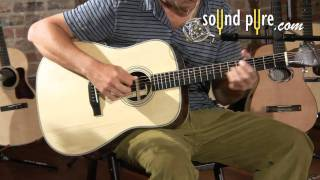 Eastman E-20D Acoustic Guitar Demo