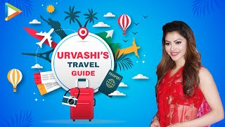 "Urvashi Rautela: ""The most ROMANTIC destination according to me is...""   Urvashi's Travel Guide - HUNGAMA"