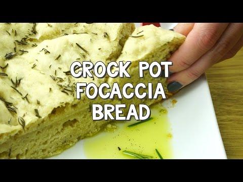 Crock Pot Focaccia Bread