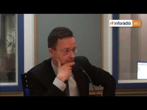 InfoRádió - Aréna - Szijjártó Péter - 1. rész