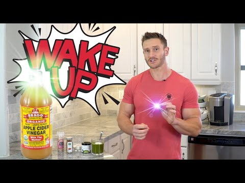 Apple Cider Vinegar Morning Drink Recipe for Energy (may replace coffee)