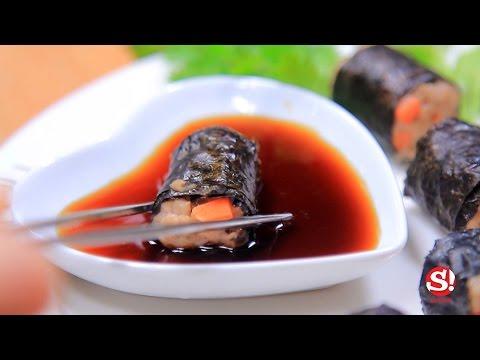 Sanook Good Stuff : สูตรทำหมูห่อสาหร่าย เองง่ายๆด้วยไมโครเวฟ