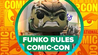 Funko Pop at Comic-Con 2018