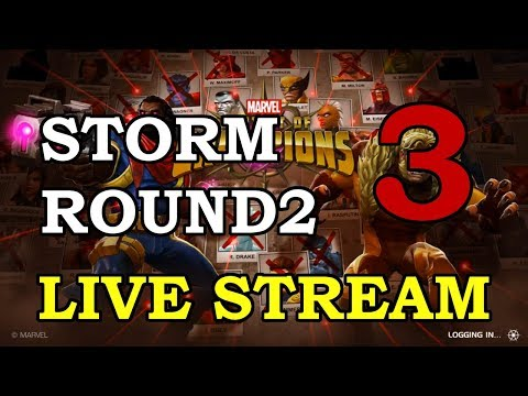 connectYoutube - Storm Round 2 - Part 3 | Marvel Contest of Champions Live Stream