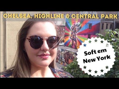Soft em NY - Parte 2 (Chelsea Market, Highline e Central Park)