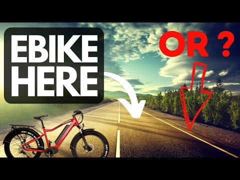 Can You Ride Your Electric Bike In The Middle Of The Road?  Explained