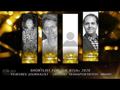 BTJAs 2020 Features Journalist of the Year - Ground Transportation
