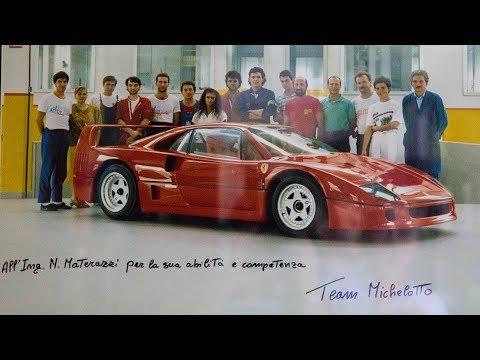 Materazzi racconta: Perché nacque la Ferrari F40 – Davide Cironi Drive Experience