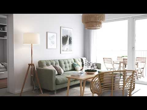2 Bedroom apartment tour in UK