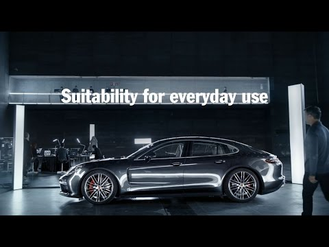 The new Panamera ? Everyday usability.