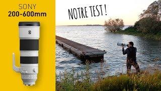 Vidéo-Test : TEST : nouvel objectif Sony G 200-600 monté sur un A7 III (en français)