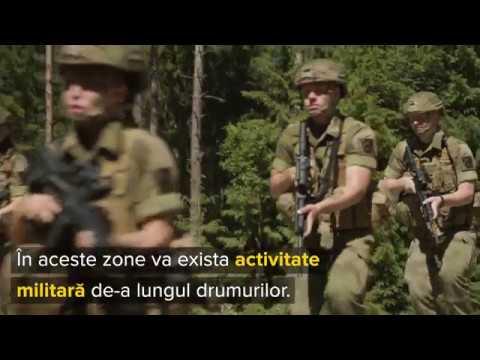 Statens vegvesen - Activitate militară de-a lungul drumului