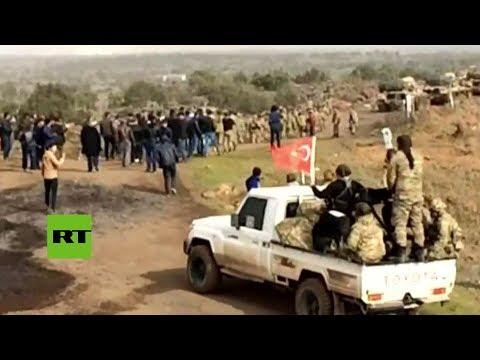 Turquía prepara operaciones terrestres en Afrín, Siria