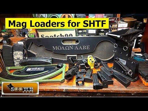 Magazine Speed Loaders for SHTF